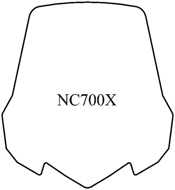 NC700X Windshield - MadStad Engineering