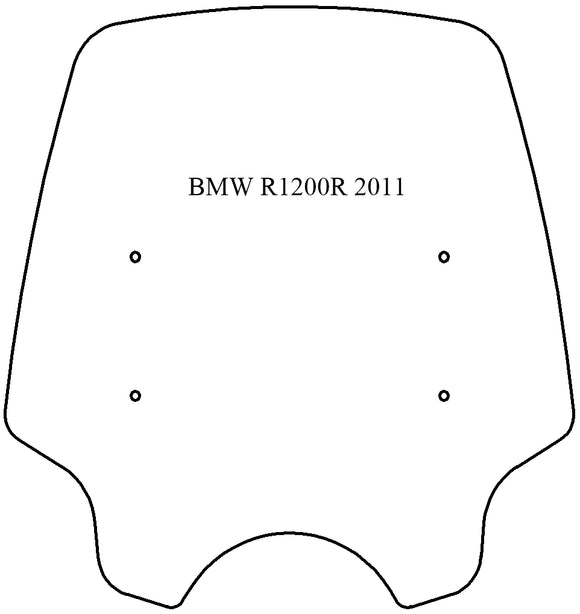 Windshield - BMW R1200R (2011-2014)