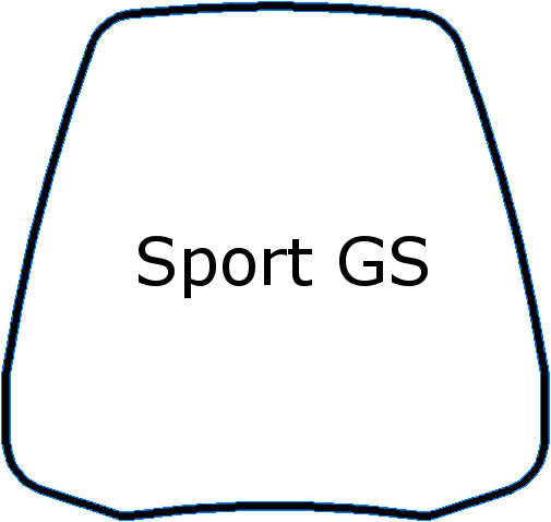 Windshield - Madstad Sport GS