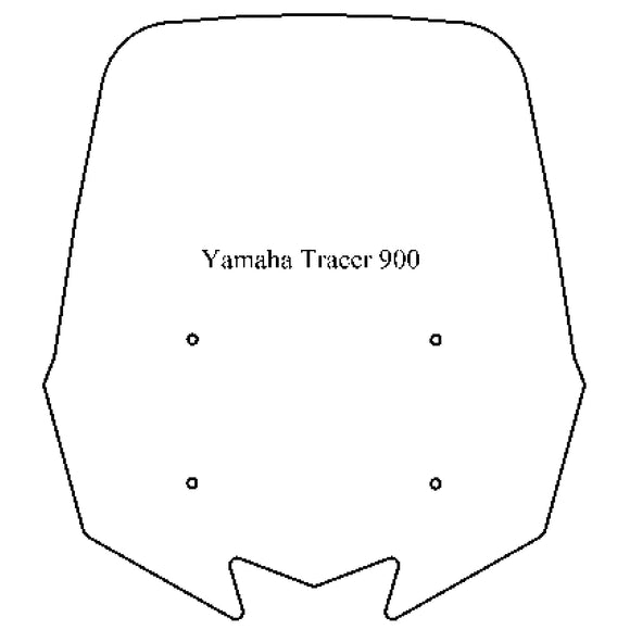 Windshield - Yamaha Tracer 900 - MadStad Engineering