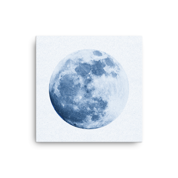 Blue Moon - Canvas Print