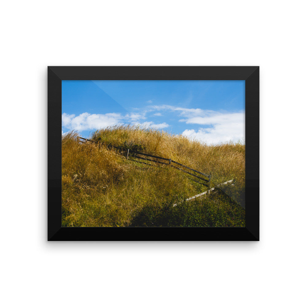 Stairway at Ebey's Landing
