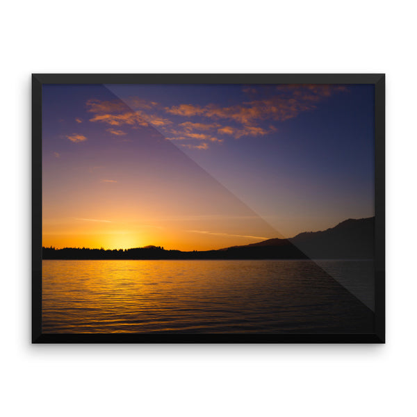 Lake Quinault Sunset