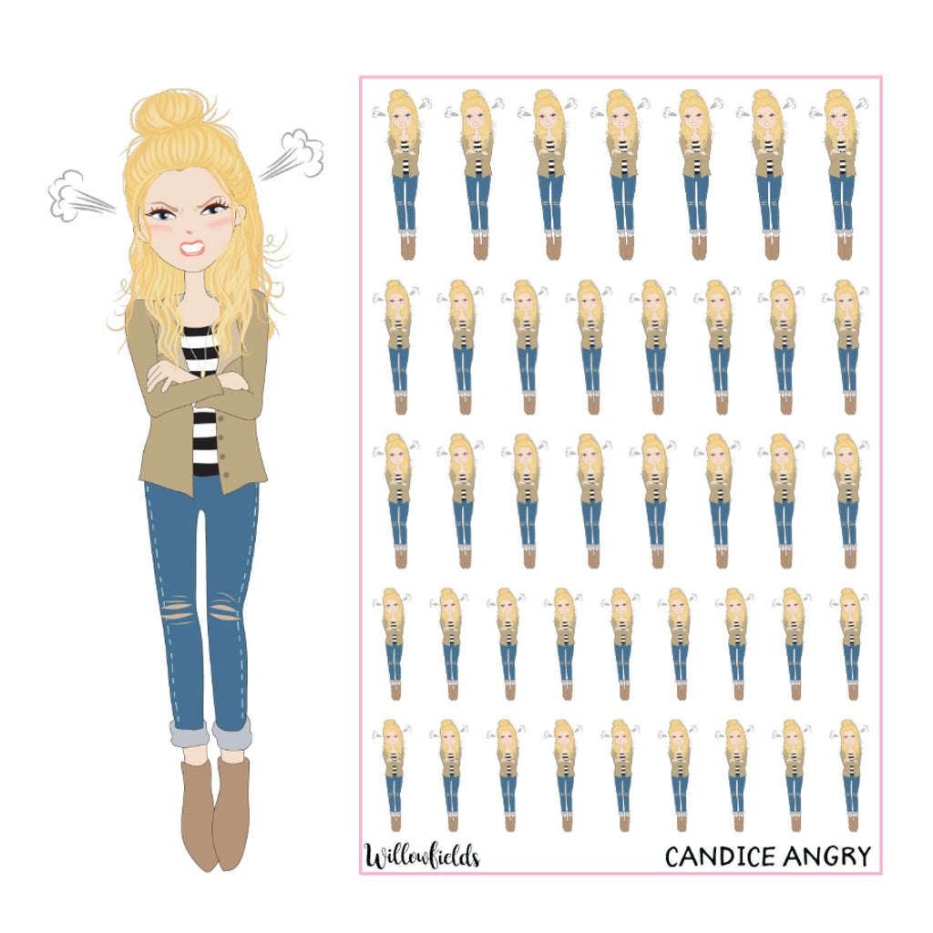 Candice Angry || GLOSSY - willowfields