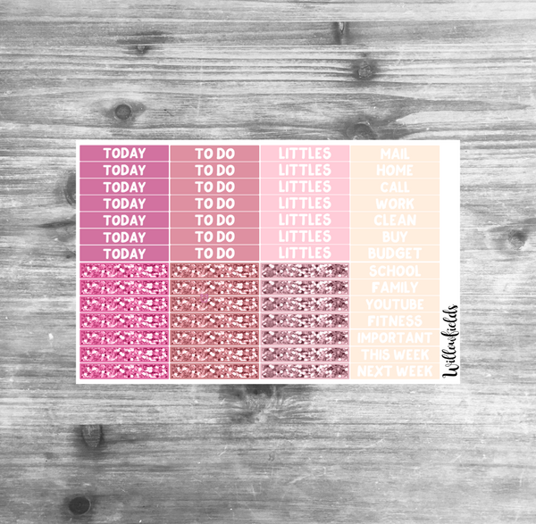 SWEET VALENTINE Kit || 8 Full Sheets - willowfields