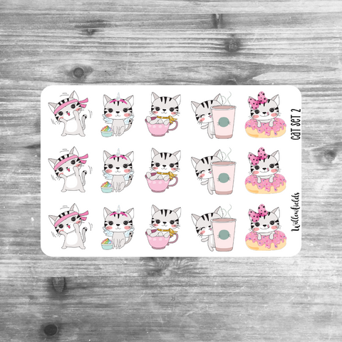 Cat Set 2 || Critter Cuties || MATTE - willowfields