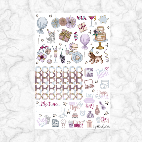 Celebrate Decorative || 50+ stickers