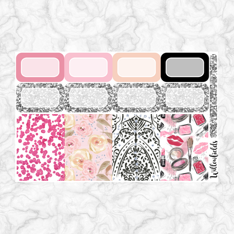 Darling Diva Washi & Half Boxes || 29 stickers