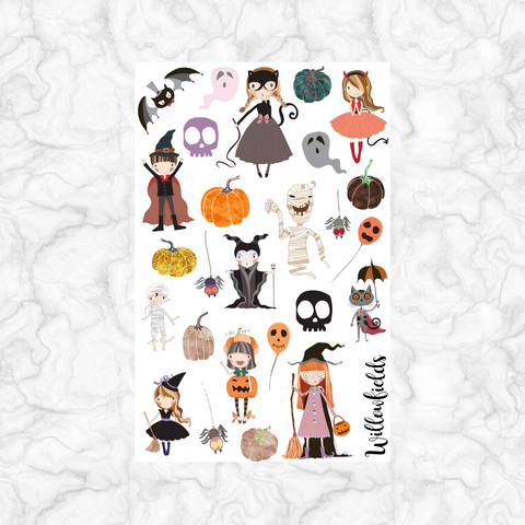 Spooky Decorative || 40+ stickers