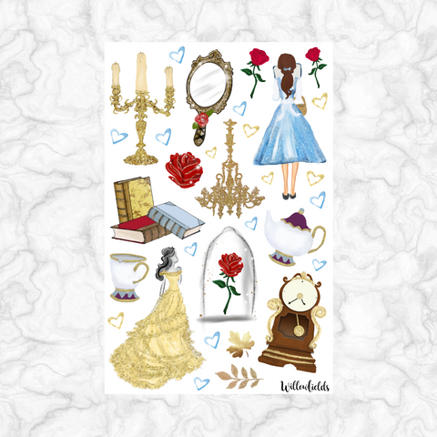 Be Our Guest Decorative || 40+ stickers