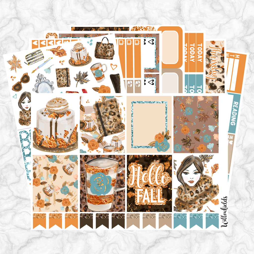 FALLICIOUS Kit || 8 Full Sheets - willowfields