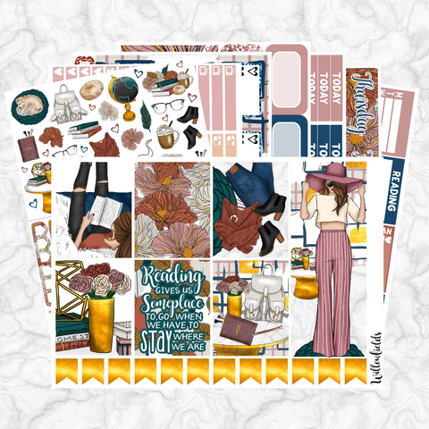 AUTUMN'S STORY Kit || 8 Full Sheets - willowfields