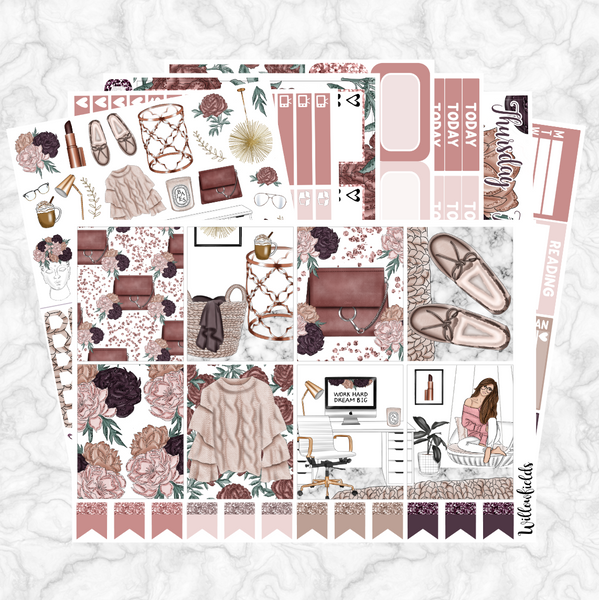 CASUALLY CHIC Kit || 8 Full Sheets - willowfields