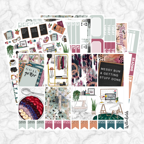 BOSS BABE Kit || 8 Full Sheets - willowfields