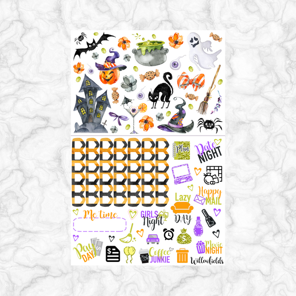 BOO Kit || 8 Full Sheets - willowfields