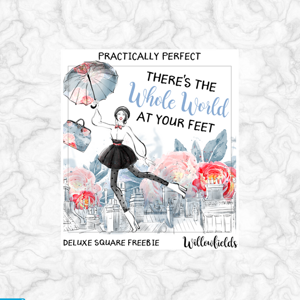 PRACTICALLY PERFECT Kit || 8 Full Sheets