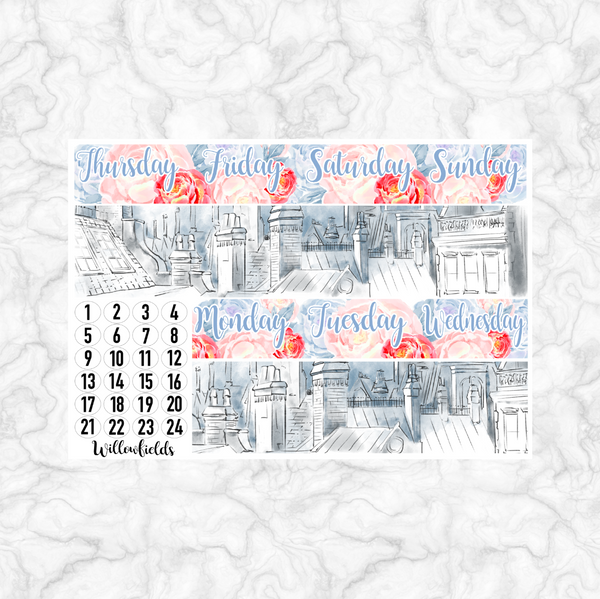 PRACTICALLY PERFECT Kit || 8 Full Sheets - willowfields