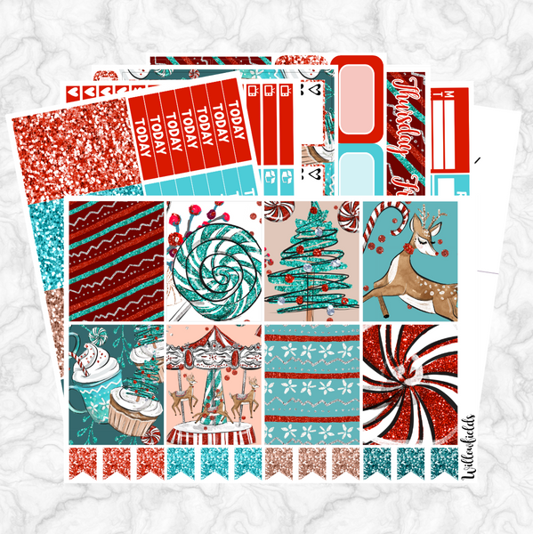 60% OFF || WINTER WON-DEER-LAND Kit || 8 Full Sheets - willowfields