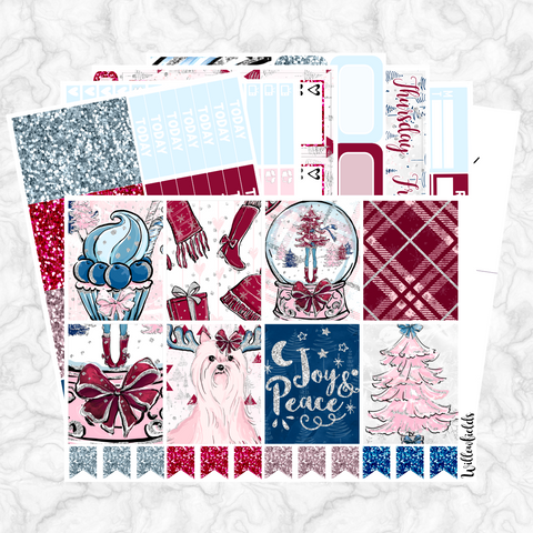CANDY CHRISTMAS Kit || 8 Full Sheets - willowfields