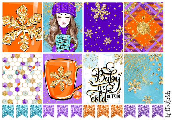 FALL INTO WINTER Kit || 8 Full Sheets
