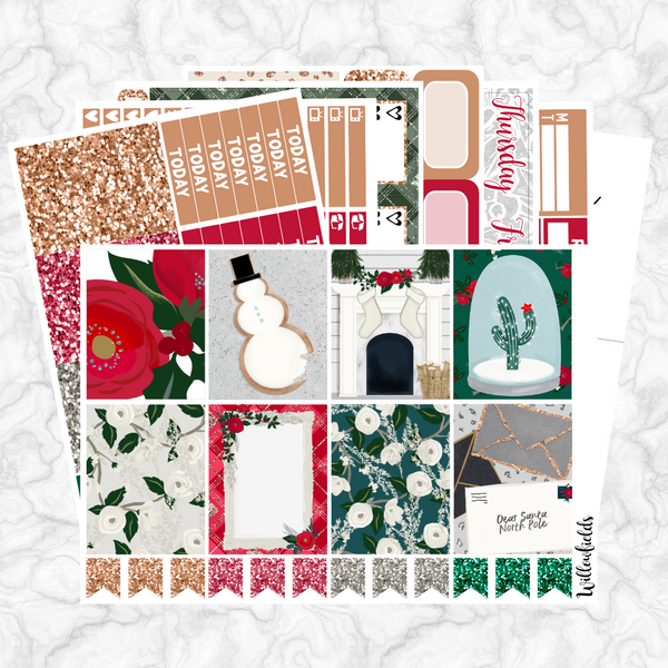 DECK THE HALLS Kit || 8 Full Sheets - willowfields
