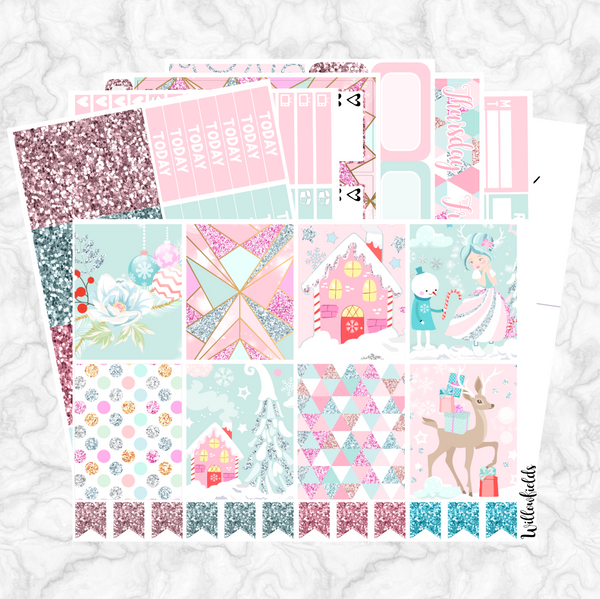 GLISTEN Kit || 8 Full Sheets - willowfields