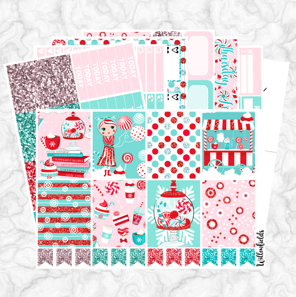 CANDY LAND GLAM Kit || 8 Full Sheets - willowfields
