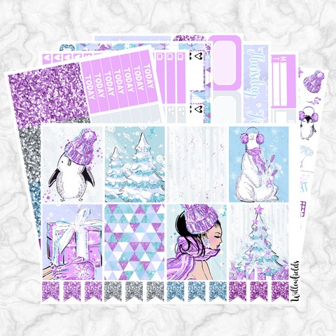 60% OFF || SNOW DAY Kit || 8 Full Sheets