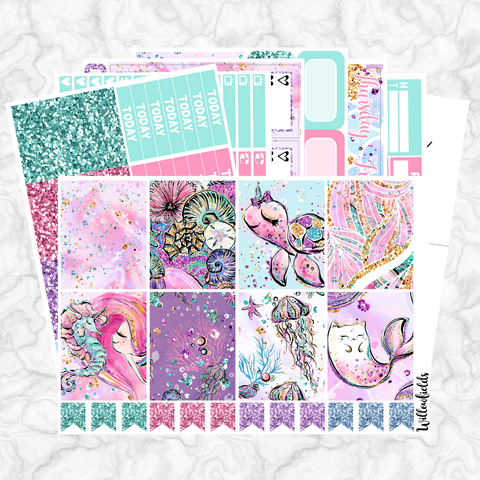MERMAID Kit || 8 Full Sheets
