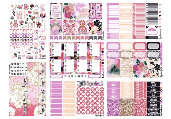 ANNIVERSARY Kit || 8 Full Sheets - willowfields