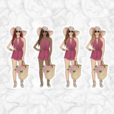 Fashion Girl || DIE CUT || 004