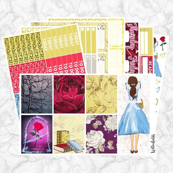60% OFF Be Our Guest Kit || 8 Full Sheets