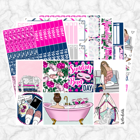 SUNDAY BUN DAY Kit || 8 Full Sheets - willowfields