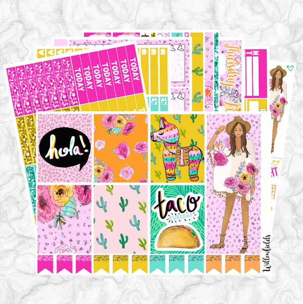 Siesta Fiesta Kit || 8 Full Sheets - willowfields