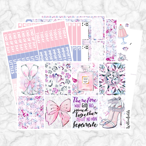 WEDDING Kit || 7 Full Sheets - willowfields