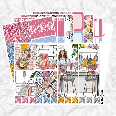 GLAM KITCHEN Kit || 8 Full Sheets