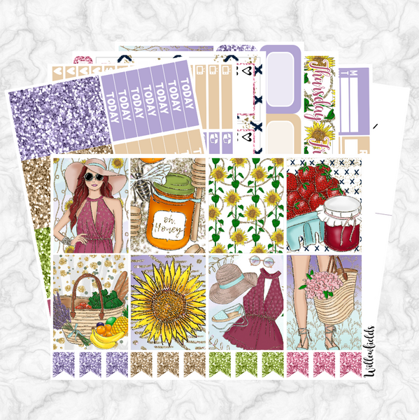 SUN BABE Kit || 8 Full Sheets - willowfields