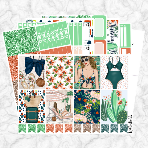FLORAL OASIS Kit || 8 Full Sheets - willowfields
