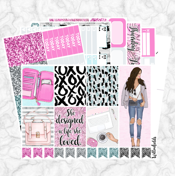 PLAN QUEEN Kit || 8 Full Sheets - willowfields