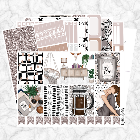 RELAXED Kit || 8 Full Sheets - willowfields