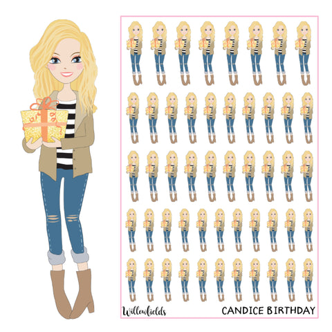 Candice Birthday || GLOSSY - willowfields