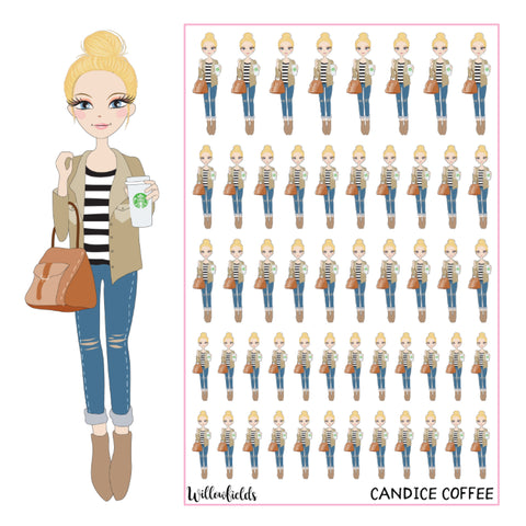 Candice Coffee || GLOSSY - willowfields