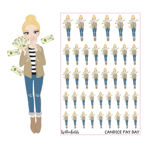 Candice Pay Day || GLOSSY - willowfields