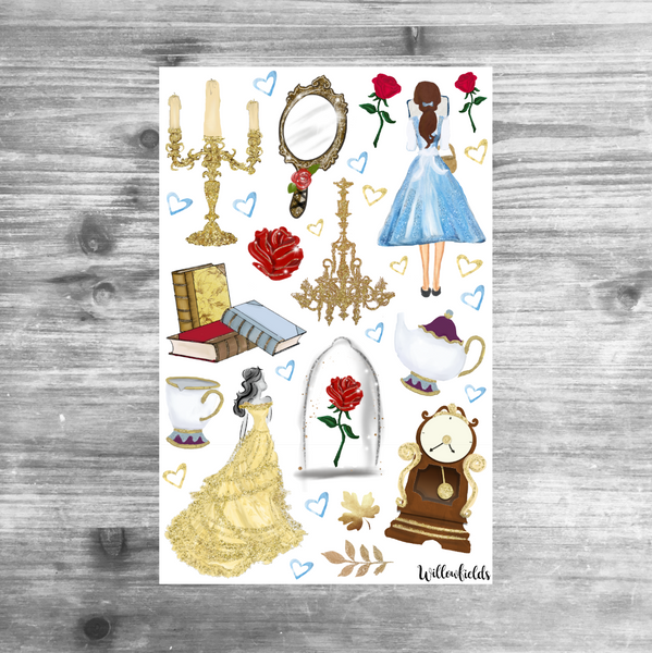 Be Our Guest Kit || 8 Full Sheets - willowfields
