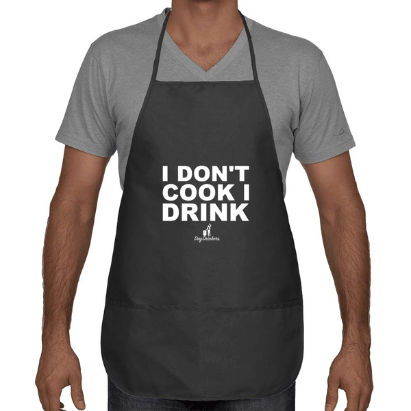 I Don't Cook Apron - The Day Drinkers