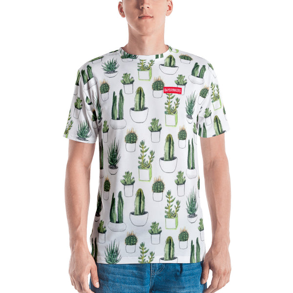 All Over Print Succulent T Shirt