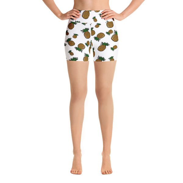 PineApple Shandy Yoga Shorts - The Day Drinkers
