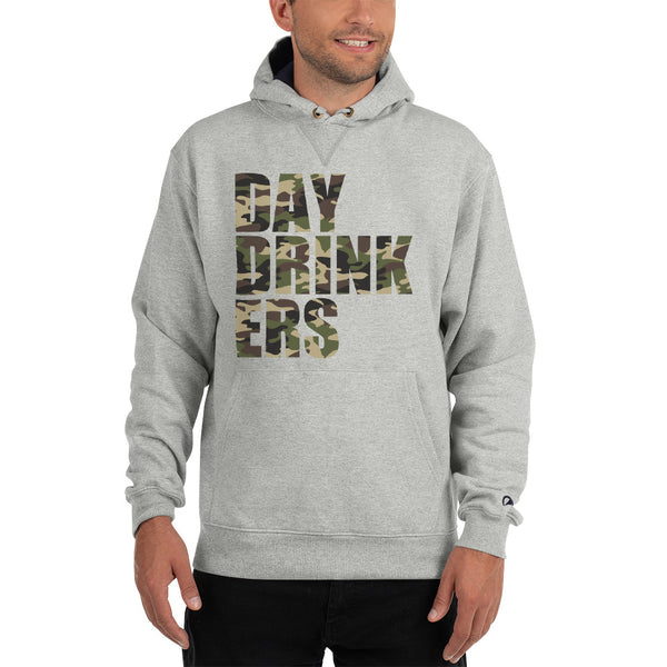Camouflage DAY DRINK ER Champion Hoodie