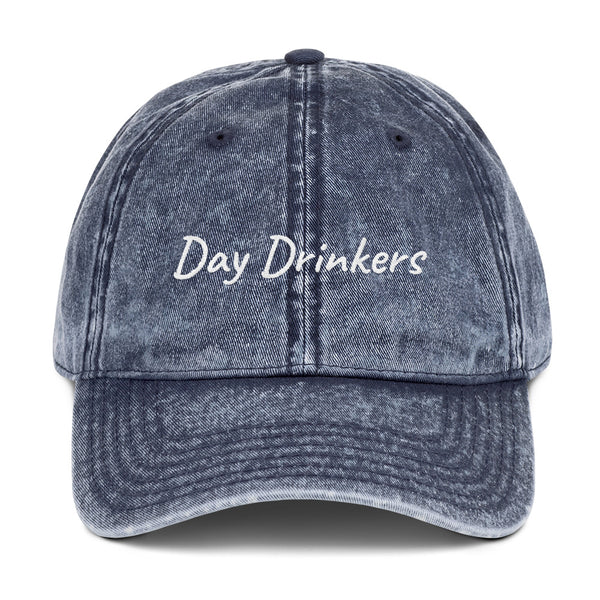 "*all Day Drinkers are ""Friends"" Vintage Cotton Twill Cap"
