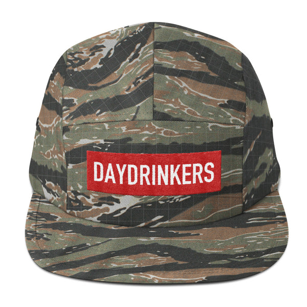 Red Patch 5 Panel - The Day Drinkers